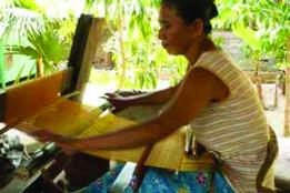 Lontar Weaving